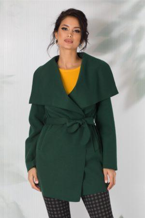 Cardigan elegant verde