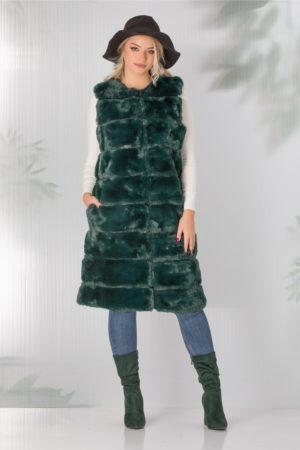 Vesta verde Otilia lunga din blanita