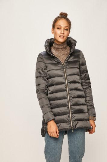 vânzare bună obține nou stil clasic Geaca dama originala Save The Duck gri matlasata rezistenta la apa cu  fermoar – paltoane.famy.ro
